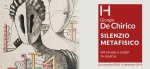 Giorgio de Chirico, Silenzio Metafisico
